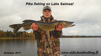 Pike Spinning on Lake Saimaa!
