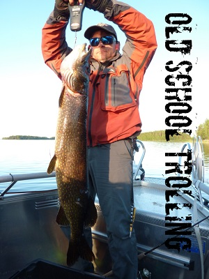 Spinning and trolling trips for big pikes on Lake Saimaa