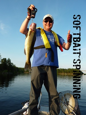 Softbait spinning for Walleyes on Lake Saimaa