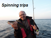 Spinning trips on Lake Saimaa!