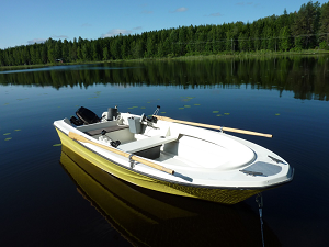 Fishing boats for Lake Saimaa